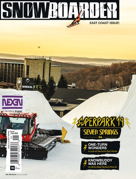 Snowboarder Cover - 1/1/2016