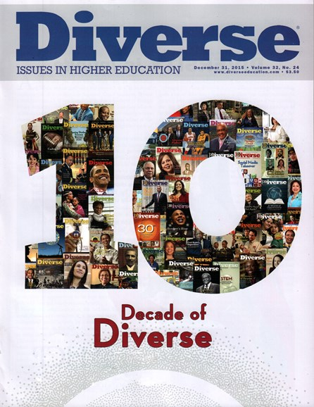 Diverse: Issues In Higher Education Cover - 12/31/2015