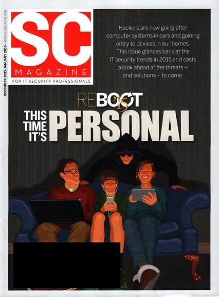 SC Magazine - U.S. edition Cover - 12/1/2015