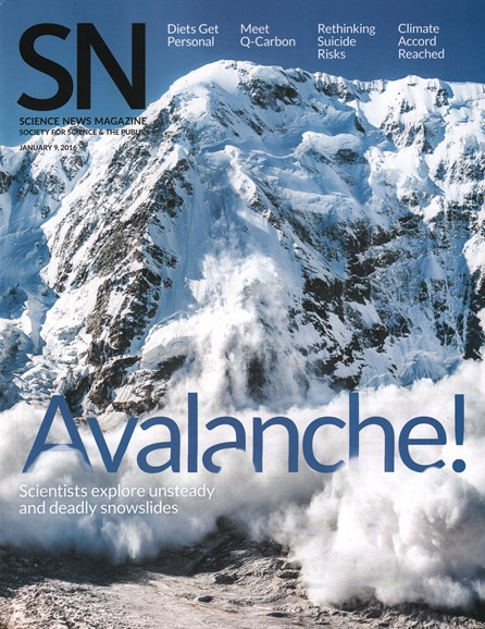 Science News Cover - 1/9/2016