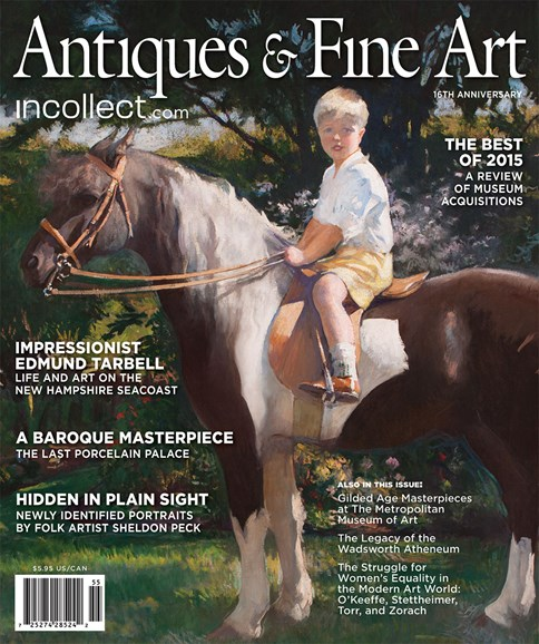 Antiques & Fine Art Cover - 1/1/2016
