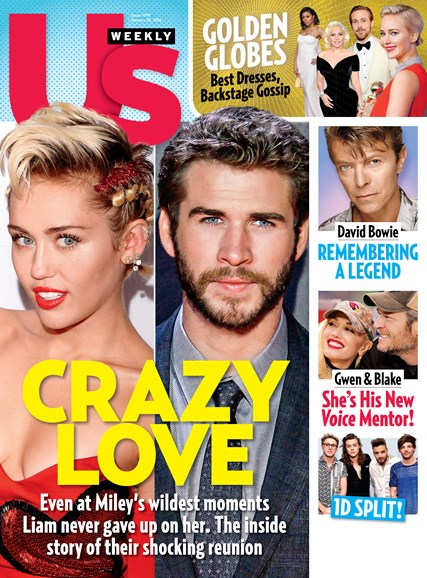 Us Weekly Cover - 1/25/2016