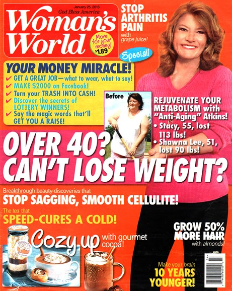 Woman's World Cover - 1/25/2016