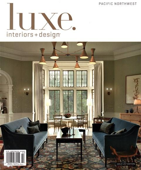 Luxe Interiors & Design Cover - 1/1/2016