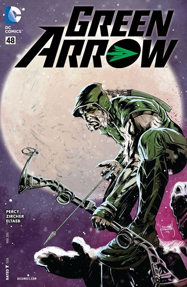 Green Arrow Cover - 3/1/2016