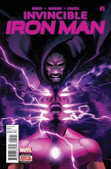 Tony Stark: Iron Man Cover - 3/1/2016