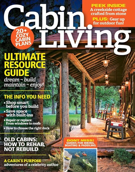 Cabin Living Cover - 1/1/2016
