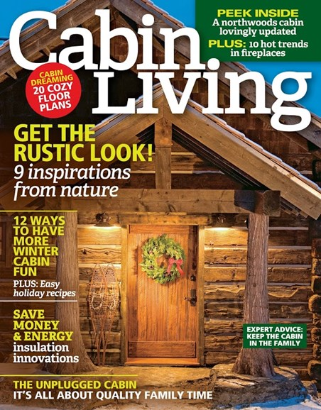 Cabin Living Cover - 11/1/2015