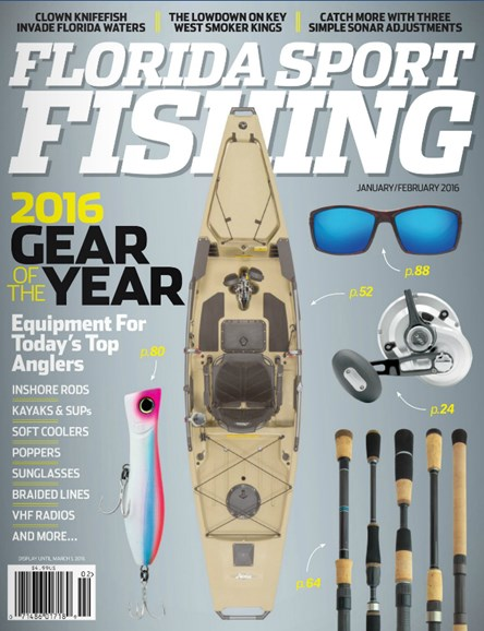 Florida Sport Fishing Cover - 1/1/2016