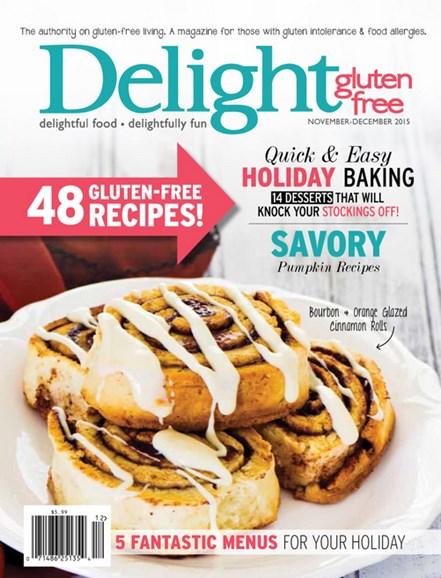 Delight Gluten Free Cover - 11/1/2015