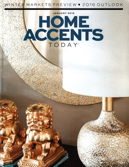 Home Accents Today Cover - 1/1/2016