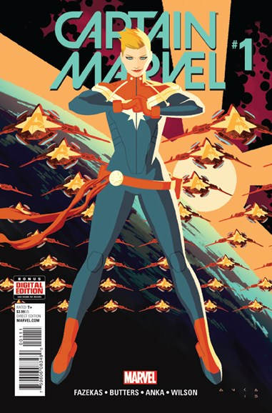 Captain Marvel Cover - 3/1/2016