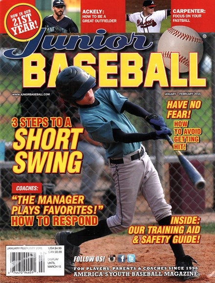 Junior Baseball Cover - 1/1/2016