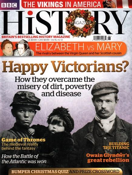 BBC History Cover - 12/25/2015