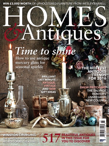Homes & Antiques Cover - 1/1/2016
