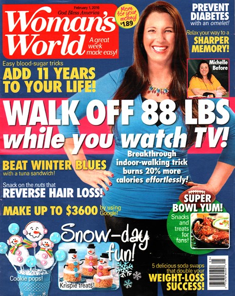 Woman's World Cover - 2/1/2016