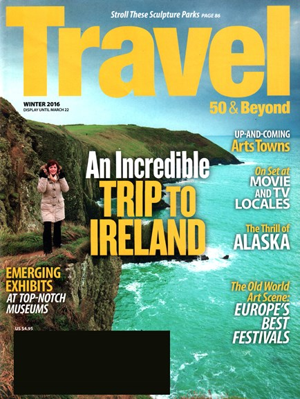 Travel 50 & Beyond Cover - 1/1/2016
