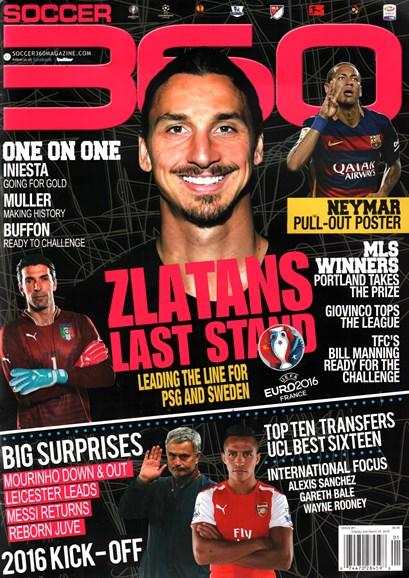 Soccer 360 Cover - 1/1/2016