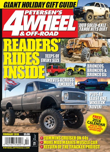 4 Wheel & Off-Road Cover - 2/1/2016