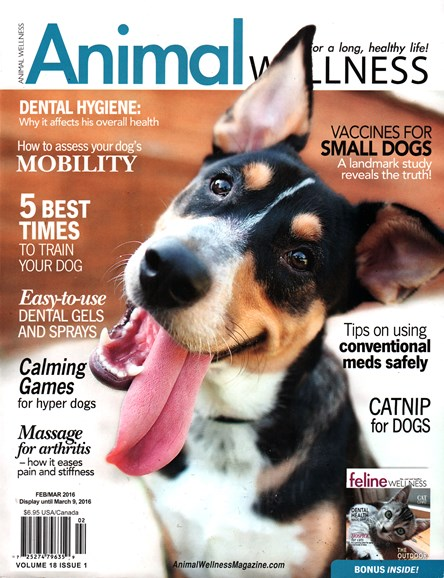 Animal Wellness Cover - 2/1/2016