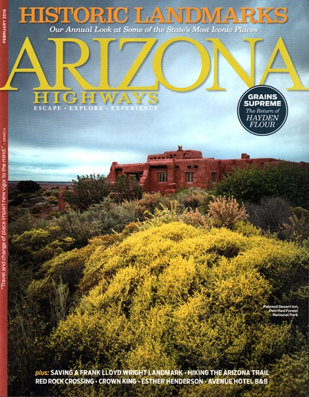 Arizona Highways Cover - 2/1/2016