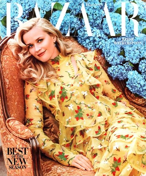 Harper's Bazaar Cover - 2/1/2016