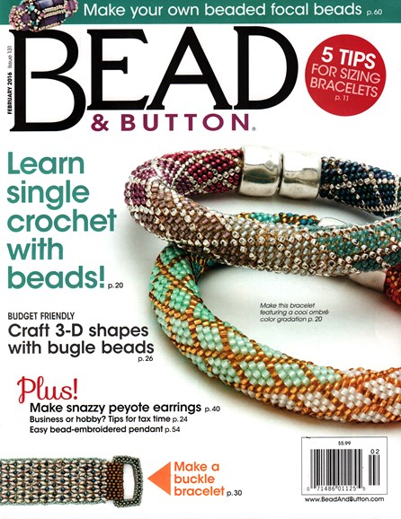 Bead & Button Cover - 2/1/2016