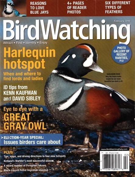 Bird Watching Cover - 2/1/2016