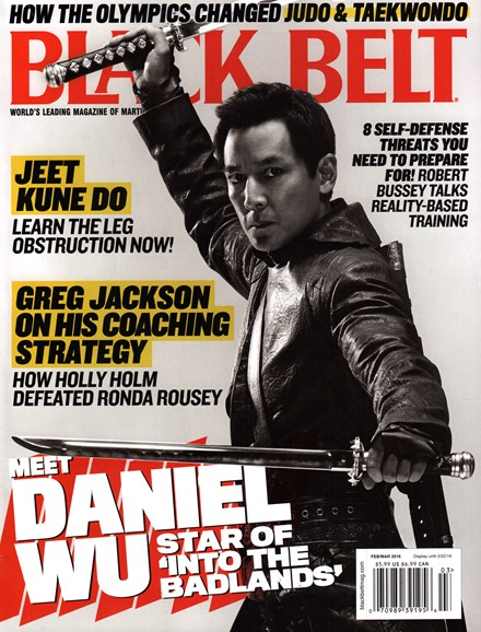 Black Belt Magazine Cover - 2/1/2016