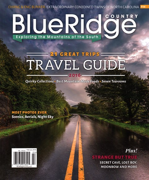 Blue Ridge Country Cover - 2/1/2016
