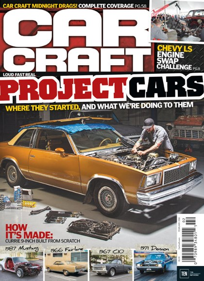 Car Craft Cover - 2/1/2016
