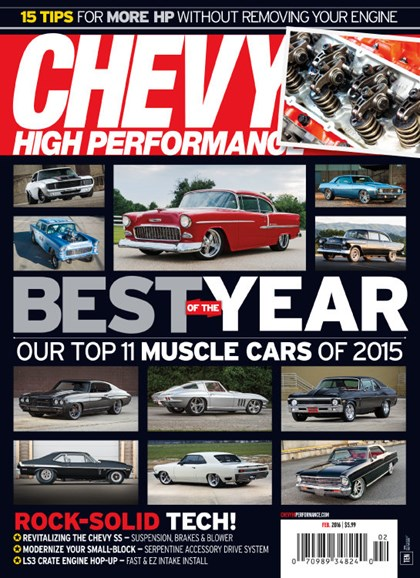 Chevy High Performance Cover - 2/1/2016