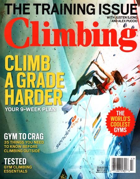 Climbing Magazine Cover - 2/1/2016