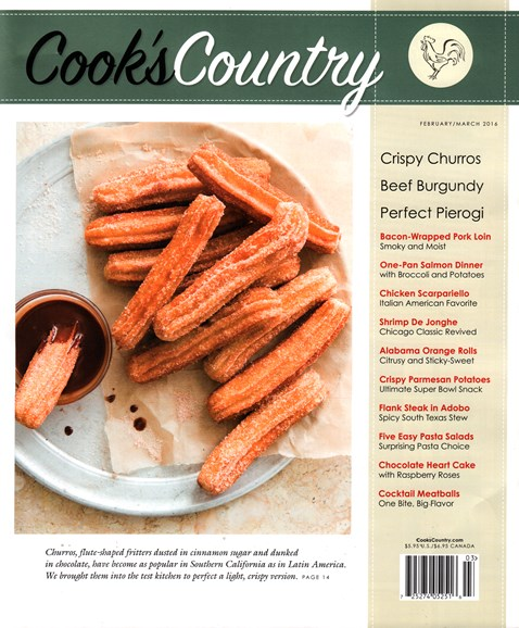 Cook's Country Cover - 2/1/2016