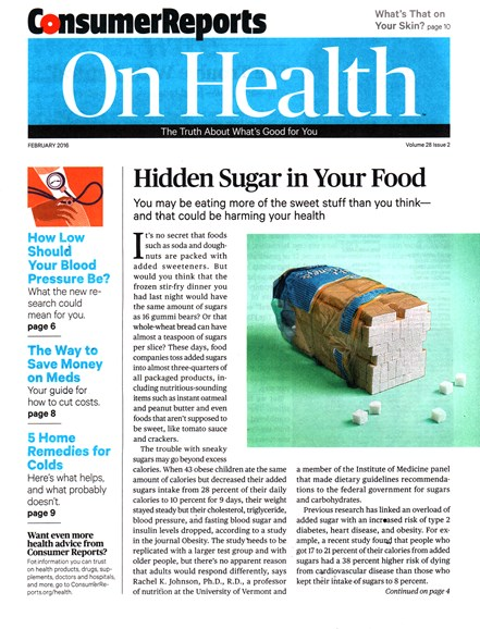 Consumer Reports On Health Cover - 2/1/2016