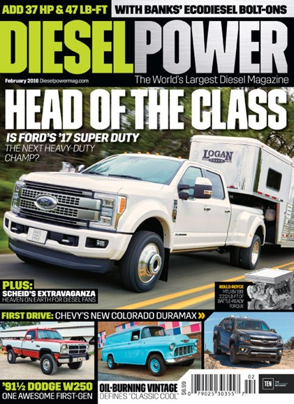 Diesel Power Cover - 2/1/2016