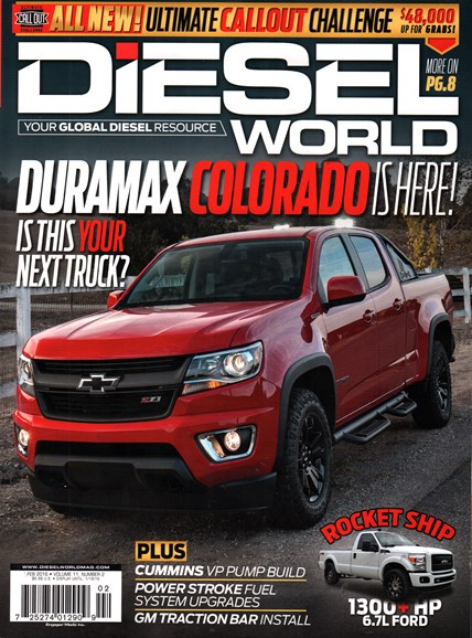 Diesel World Cover - 2/1/2016