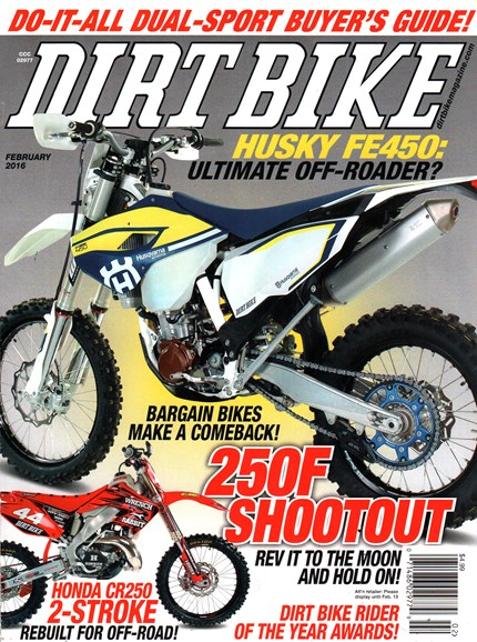 Dirt Bike Cover - 2/1/2016