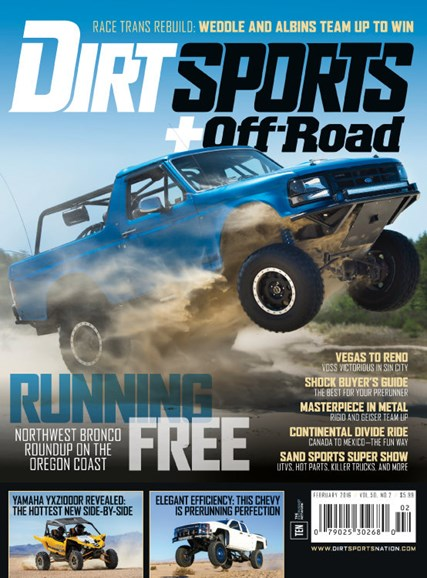Dirt Sports & Off-Road Cover - 2/1/2016