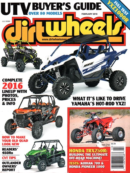 Dirt Wheels Cover - 2/1/2016