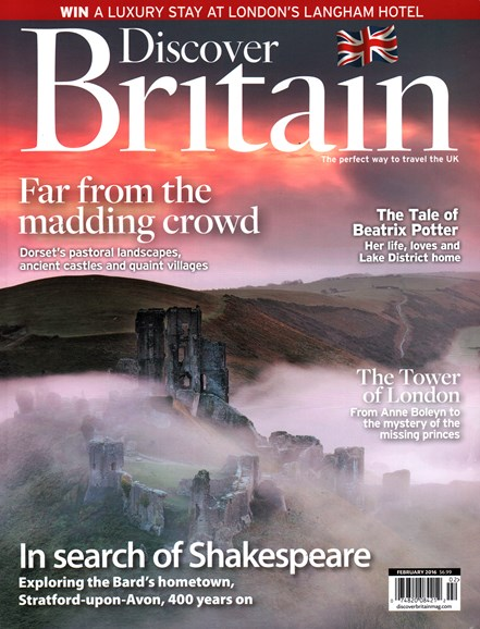 Discover Britain Cover - 2/1/2016