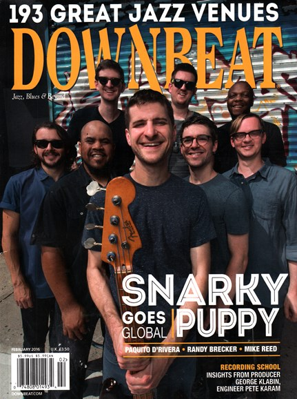 DownBeat Cover - 2/1/2016