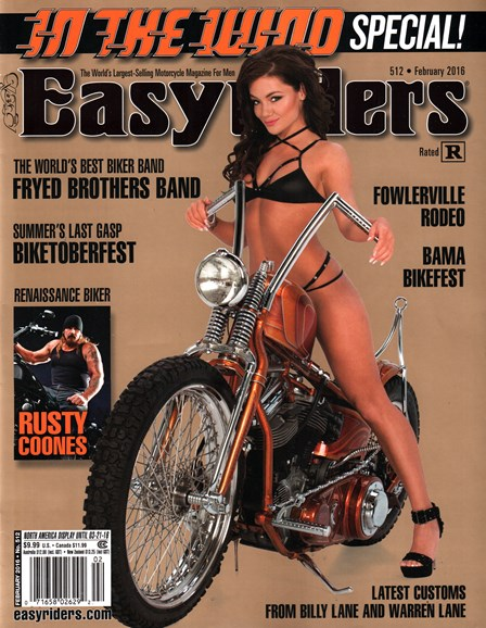 Easyriders Cover - 2/1/2016
