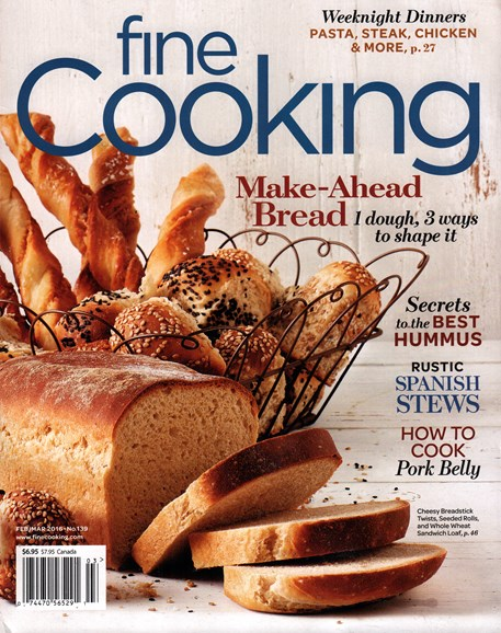Fine Cooking Cover - 2/1/2016