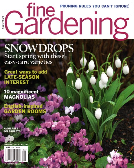 Fine Gardening Cover - 2/1/2016