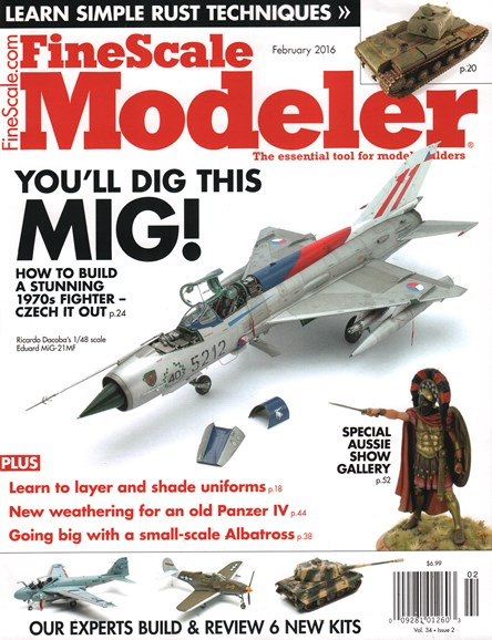 Finescale Modeler Cover - 2/1/2016