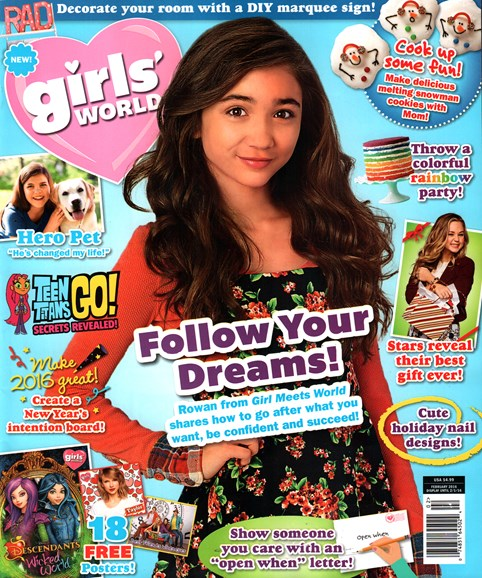 Girls' World Cover - 2/1/2016