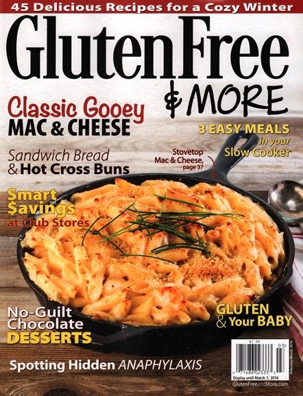 Gluten Free & More Cover - 2/1/2016