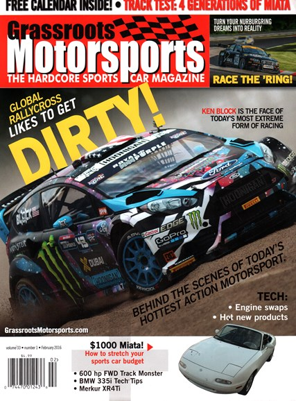 Grassroots Motorsports Cover - 2/1/2016