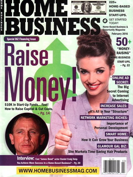 Home Business Magazine Cover - 2/1/2016